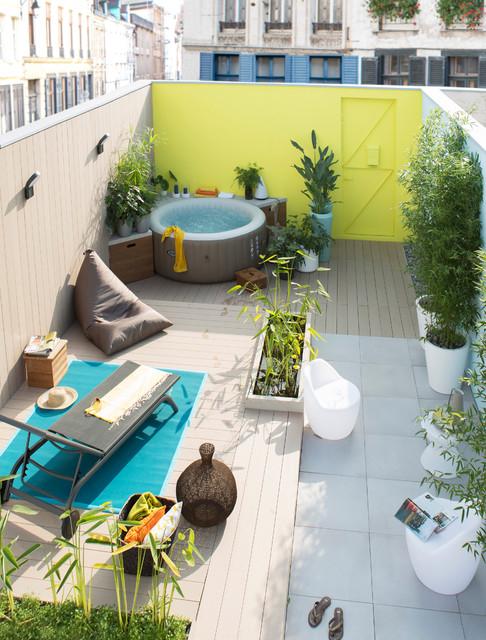 Aménagement Spa Extérieur Decoration Terrasse Avec Spa Le Spécialiste De La