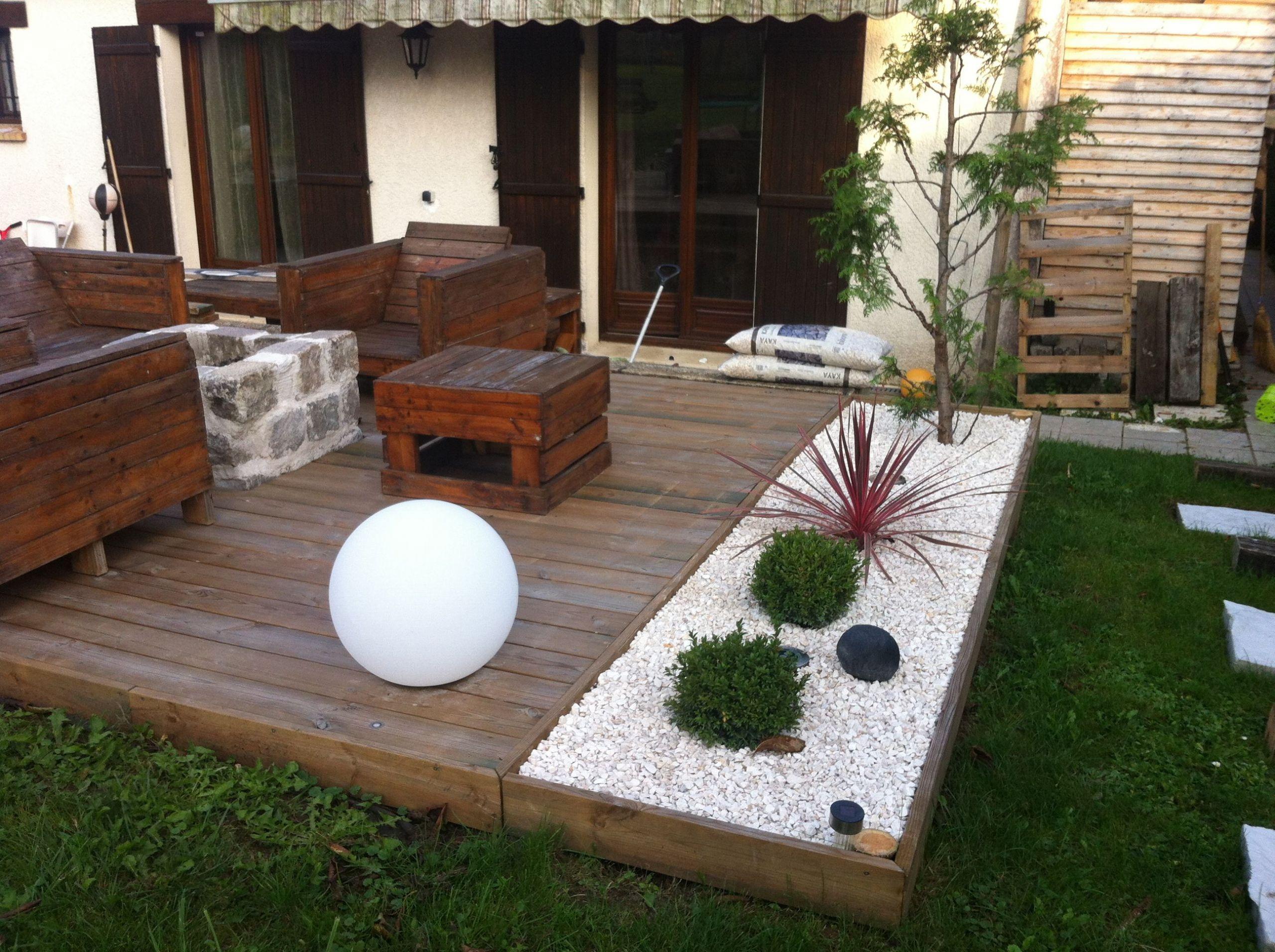 Aménagement d une terrasse brasero Instructions