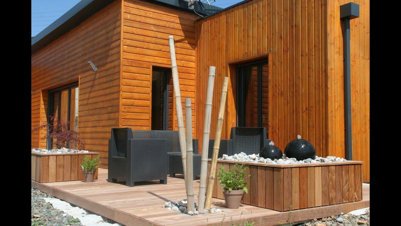 Aménagement terrasse en ipé esprit zen