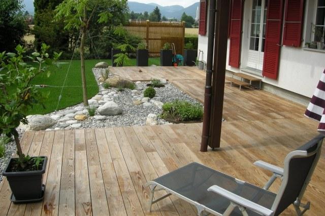 Idées terrasse bois pour un extérieur fonctionnel et élégant