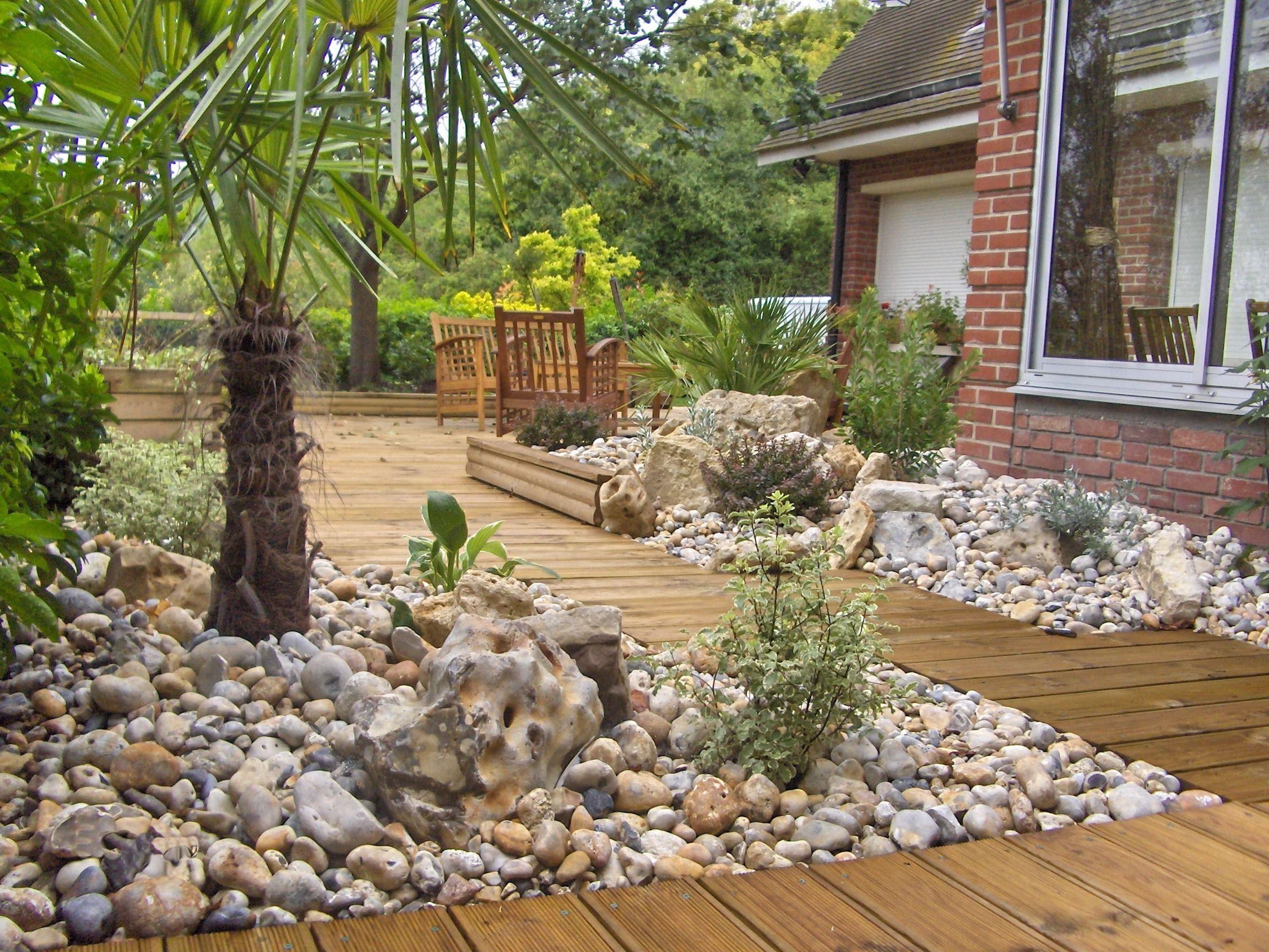 Jardin Sur Une Terrasse amenagement terrasse bois jardin terrasse en bois - idees