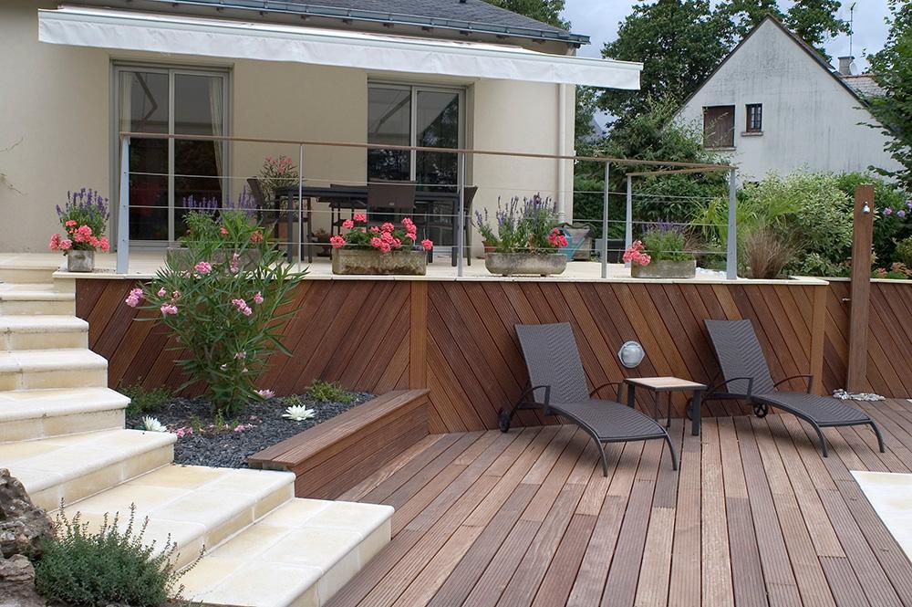 Paysagiste création jardins saumur