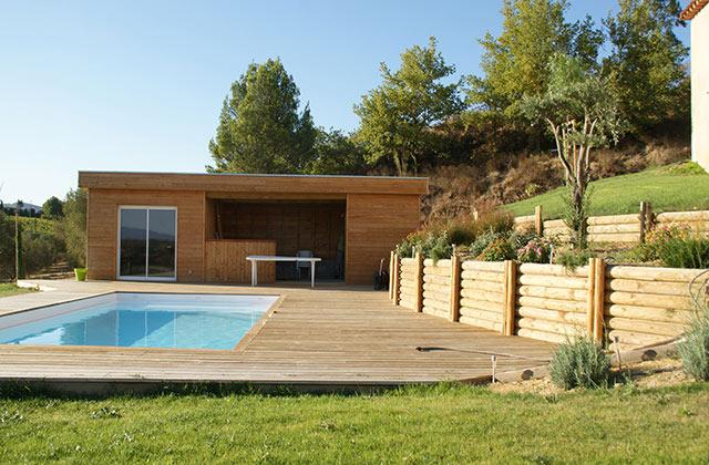 Terrasse bois Aménagement extérieur SGE Bois Boulou