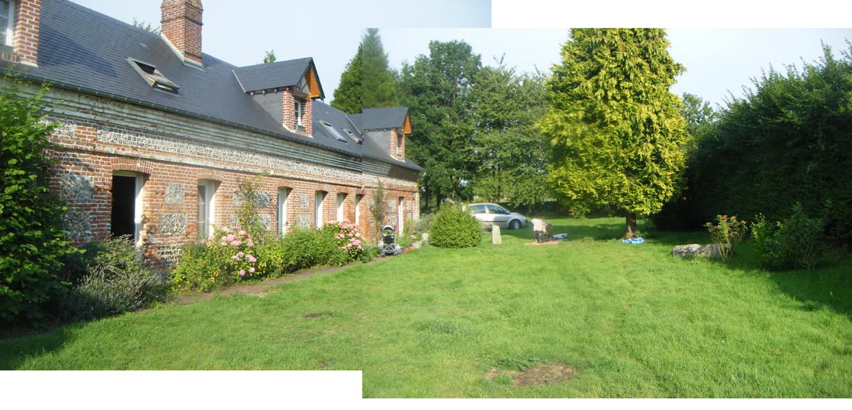 Amenagement Terrasse Devant Maison Aménagement Paysager Du Jour Une Longère normande Et Sa