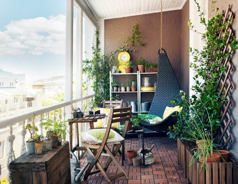 aménagement d extérieur de balcon d appartement