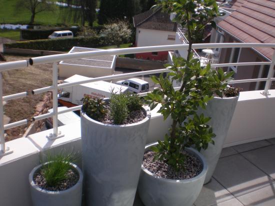 Aménagement de la terrasse d un appartement