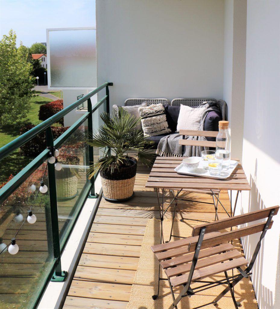 Aménagement petit balcon terrasse balcon