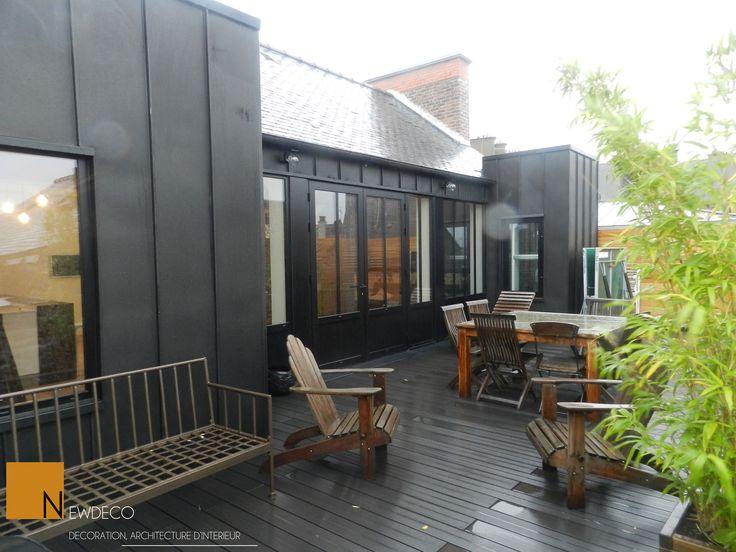 aménagement terrasse terrasse appartement terrasse