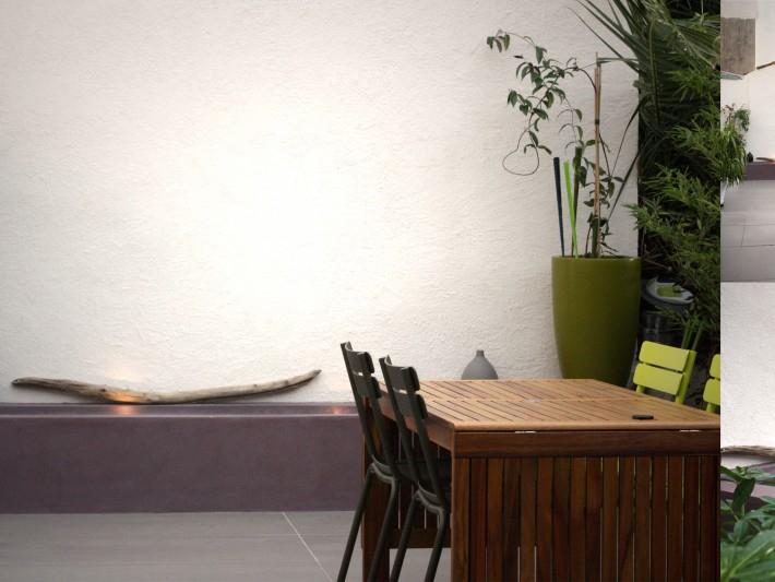 Appartement & terrasse Symetric Design Aménagement