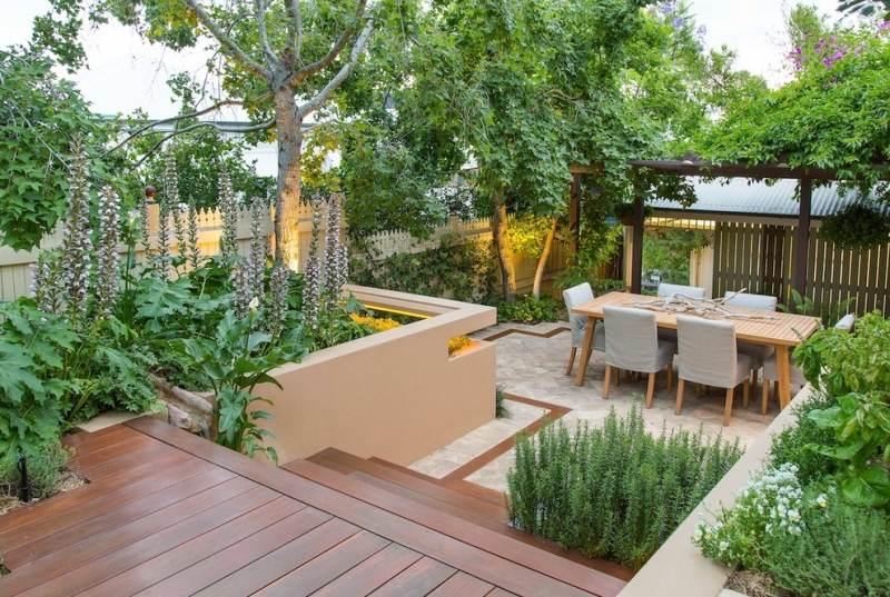 Aménagement petit jardin sur la terrasse en 55 photos