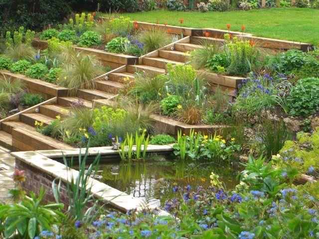 Jardin en pente 33 idées d aménagement végétal