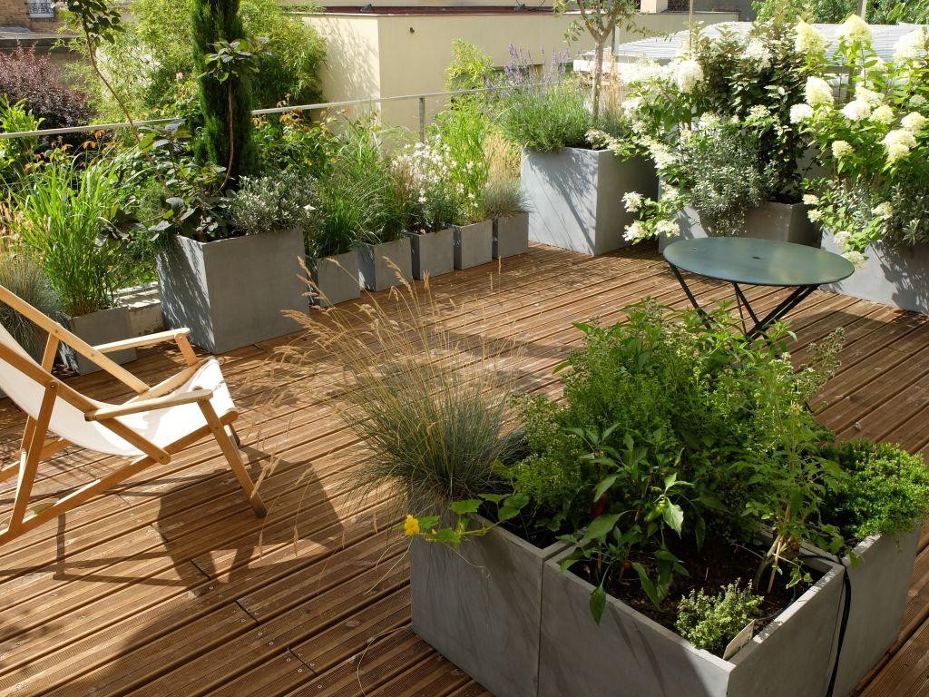Amenagement Terrasse Jardin Concept