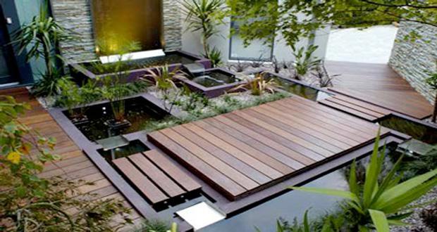 Amenagement terrasse pas cher amnagement jardin zen - Bordure de jardin en pierre pas cher ...