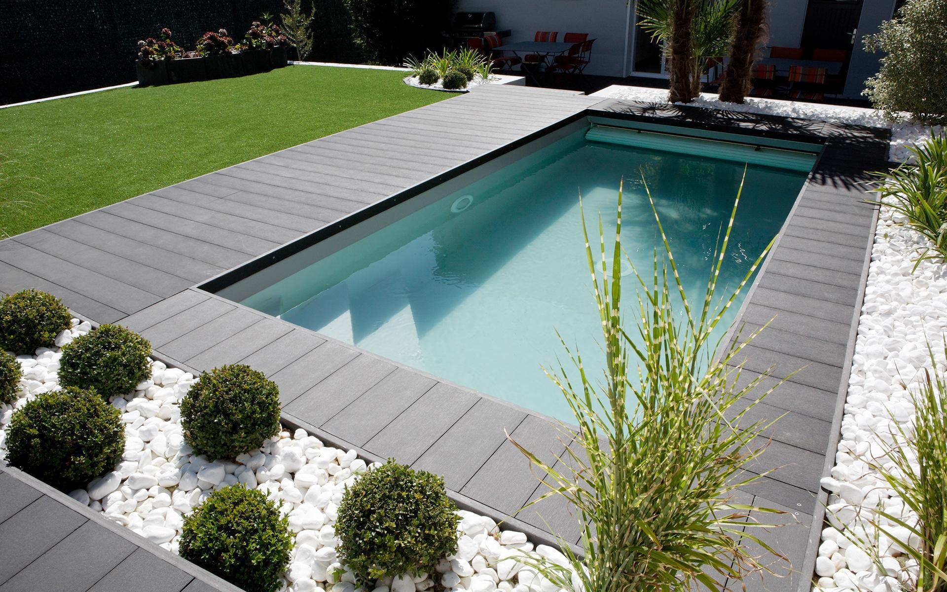 Idee Amenagement Tour De Piscine amenagement tour de piscine piscine david paysage - idees