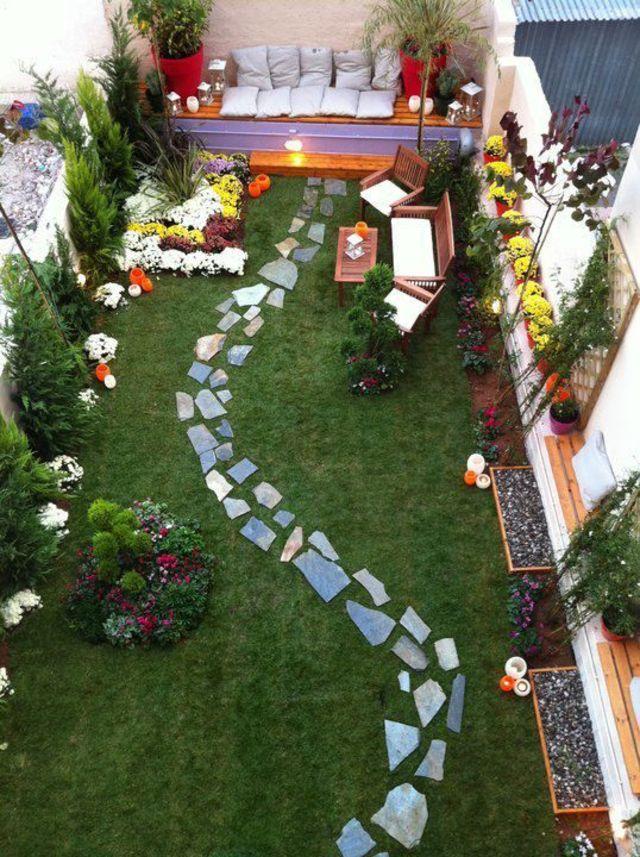 Aménager Un Jardin Aménagement Petit Jardin De Ville 12 Idées Sur Pinterest