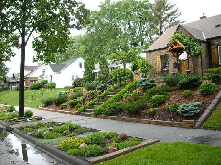 Aménager son jardin en pente conseils pratiques et photos