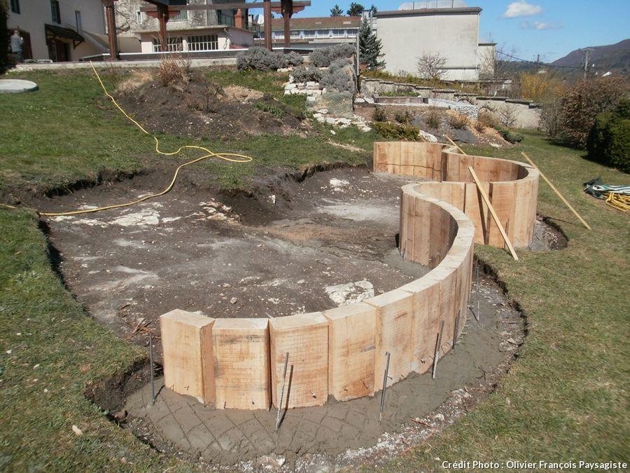Aménager Un Jardin En Pente Pas à Pas Créer Un Bassin Sur Un Terrain En Pente