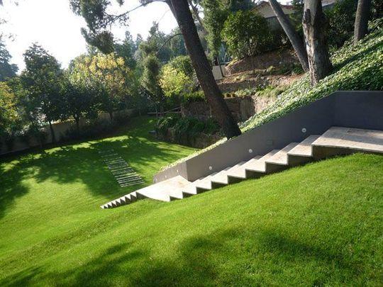 Aménager Un Jardin En Pente Un Jardin En Pente Douce Gardens