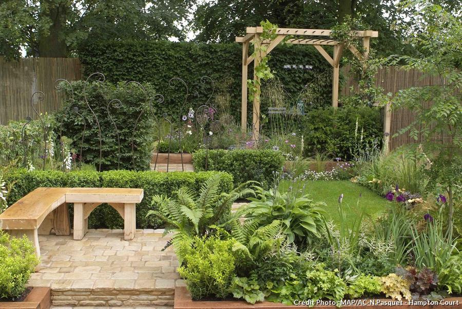 Aménager un petit jardin où se promener Détente Jardin