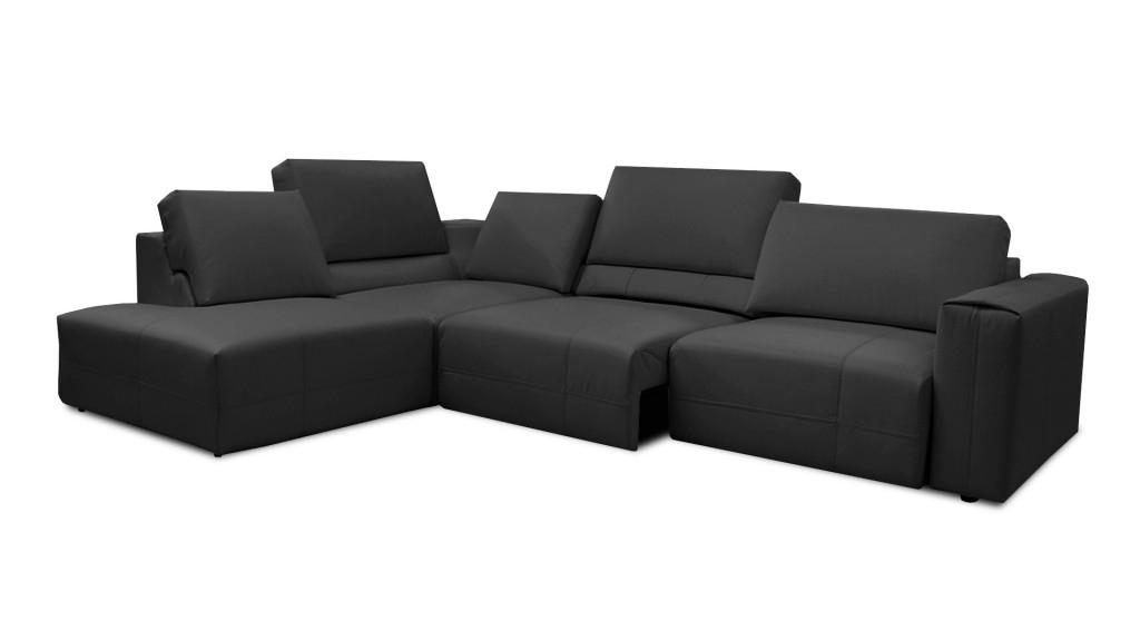Assise De Canapé Canapé D Angle Cuir 3 Places à 5 Places Canapé D Angle Cuir
