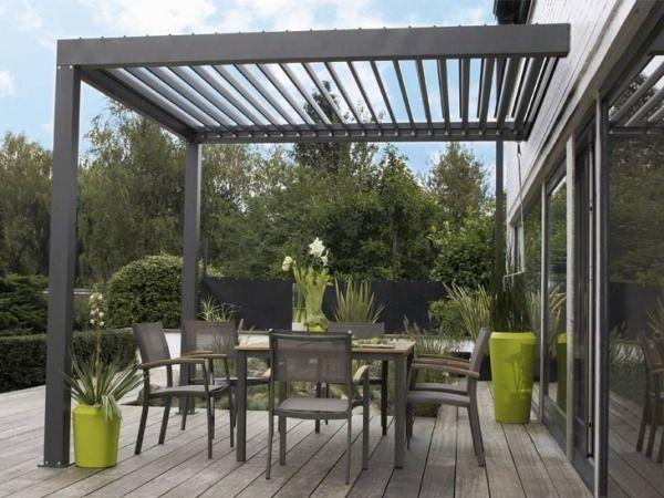 Auvent de terrasse en aluminium pour votre espace