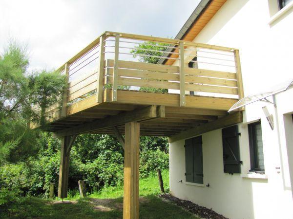 Balcon Terrasse Bois Concept