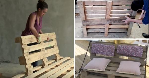 8 Tutos Vidéos pour Fabriquer un Canapé en Palette