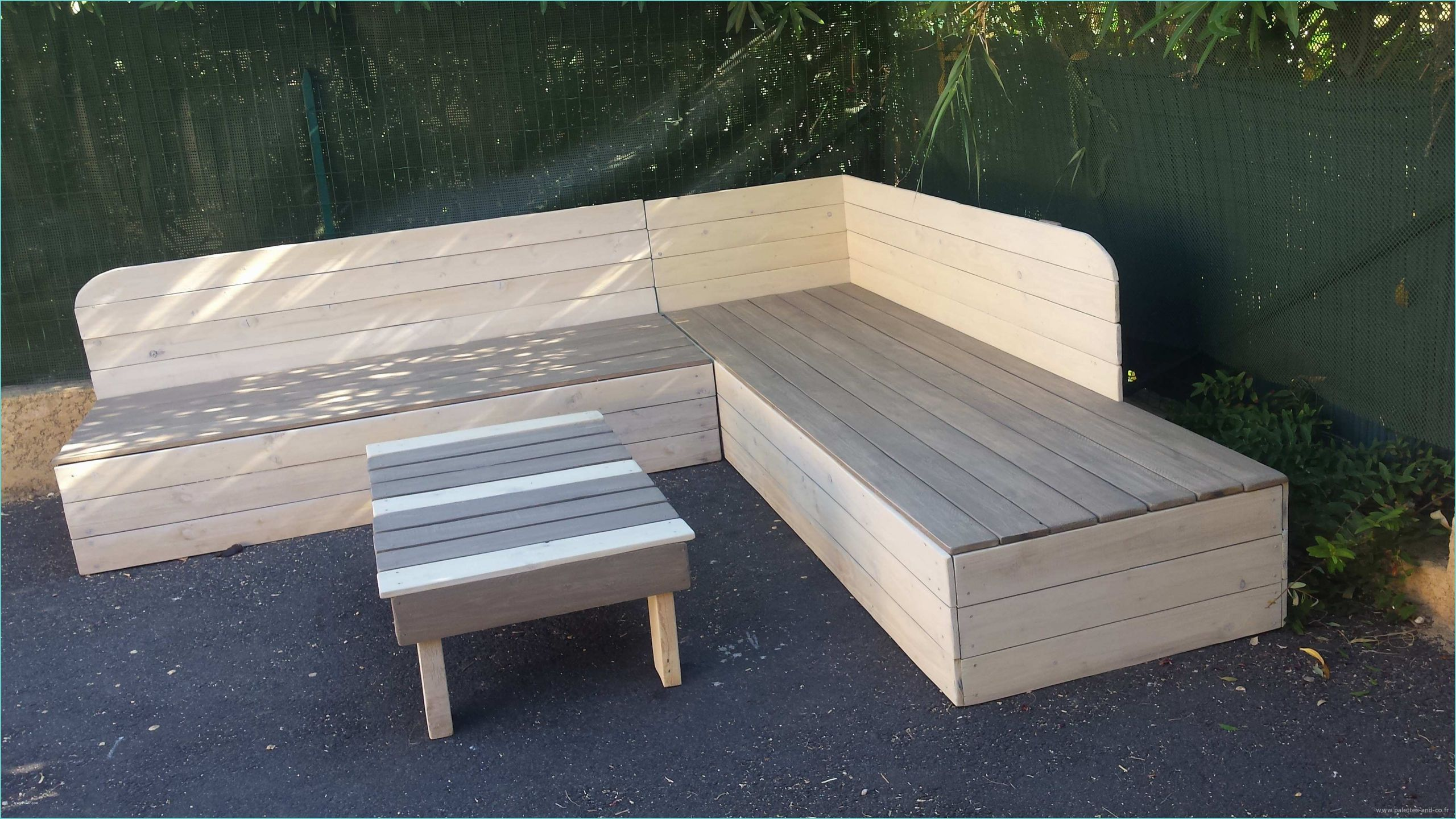 Faire Un Banc En Palette banc avec palettes bois