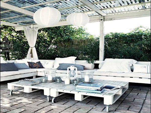 Faire un salon de jardin en palette Maison