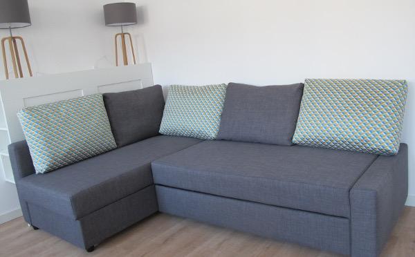 Coussins dossiers pour canapé Ikea