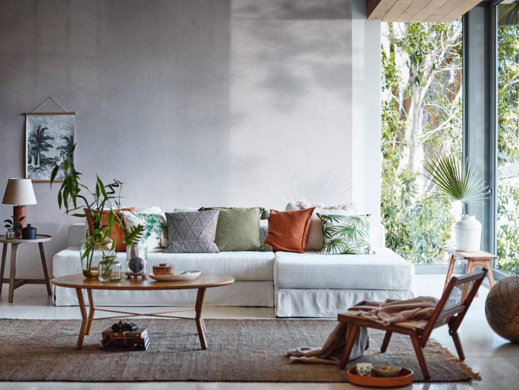 Quelle couleur de coussins avec un canapé blanc Joli Place