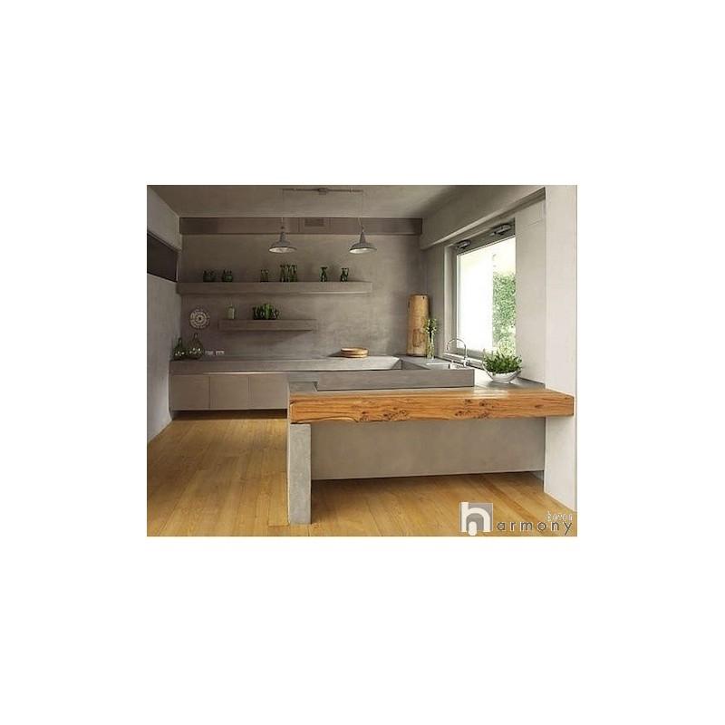 B ton cir sur carrelage b ton cir carrelage cuisine plan - Beton cire sur carrelage plan de travail cuisine ...