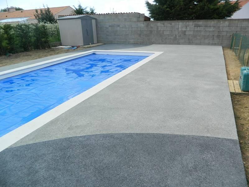 Beton Teinte Pour Terrasse Exterieure ZX52