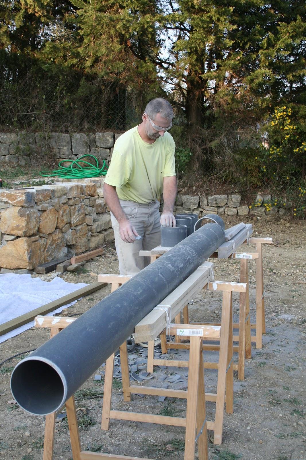 Plot beton pour terrasse bois pas cher