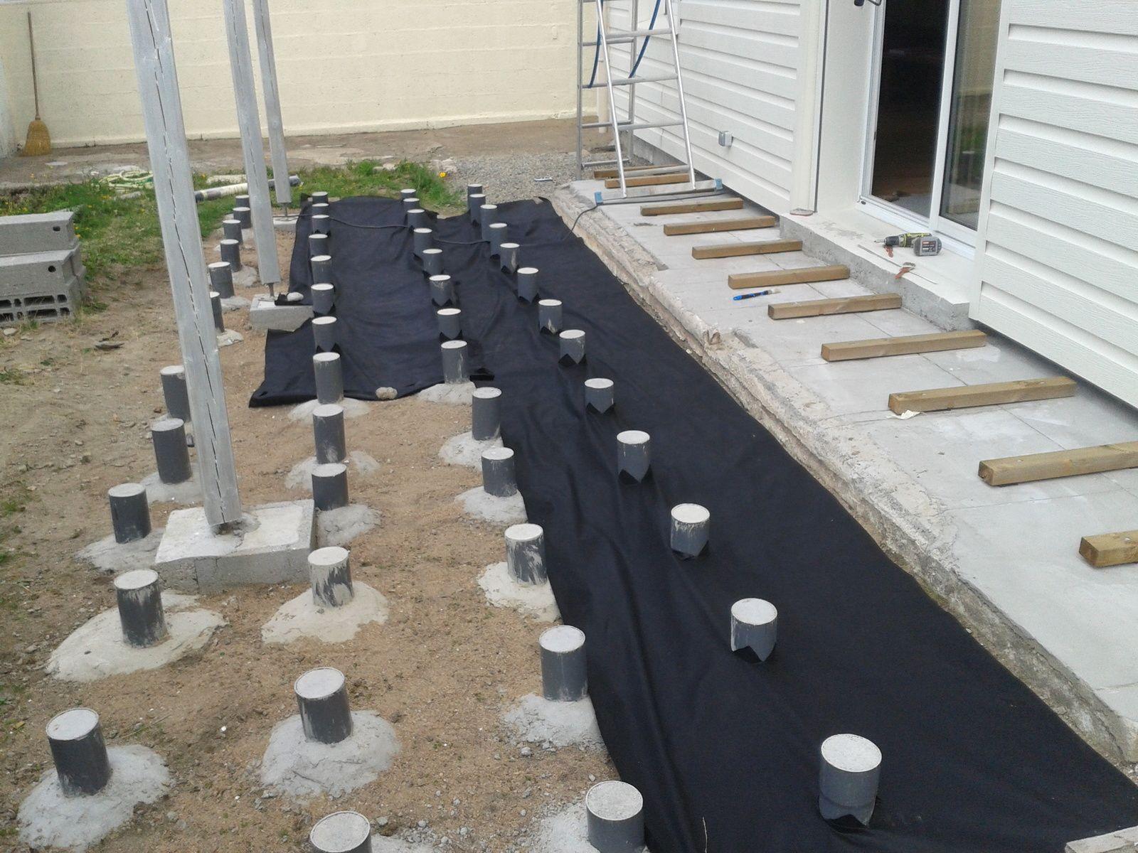 Plot Beton Terrasse Bois 6 Impressionnant Sur Plots 0