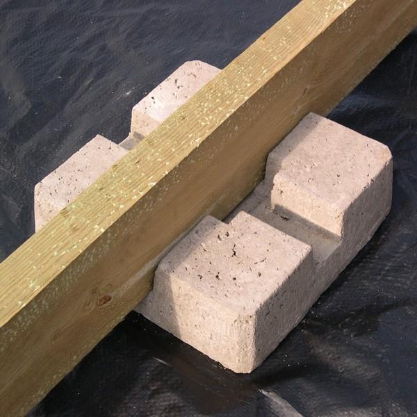 Plot en beton pour terrasse bois Guide de la terrasse