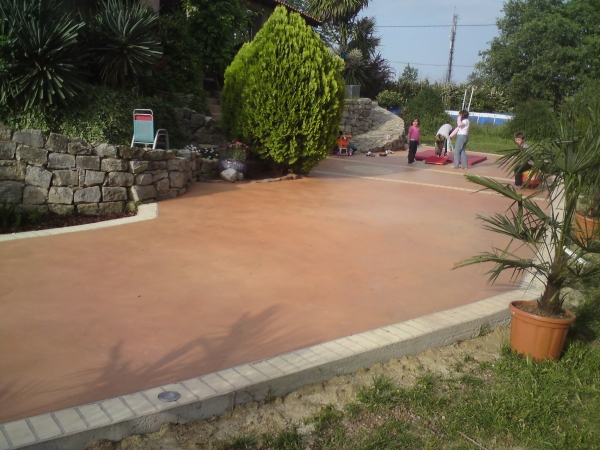 Terrasse beton couleur Nos Conseils