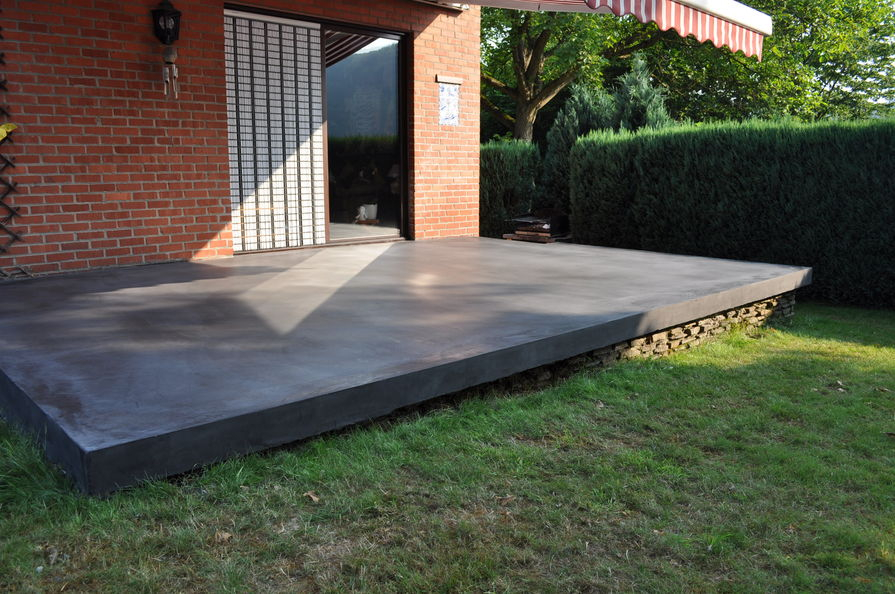 Terrasse beton design Nos Conseils