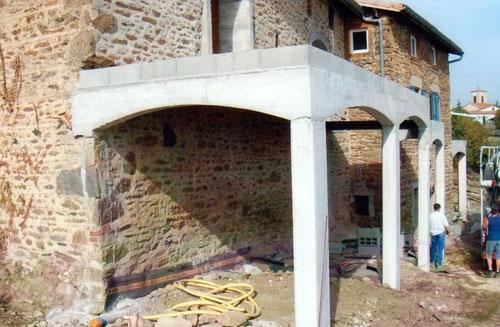 Terrasse beton sur poteaux Nos Conseils