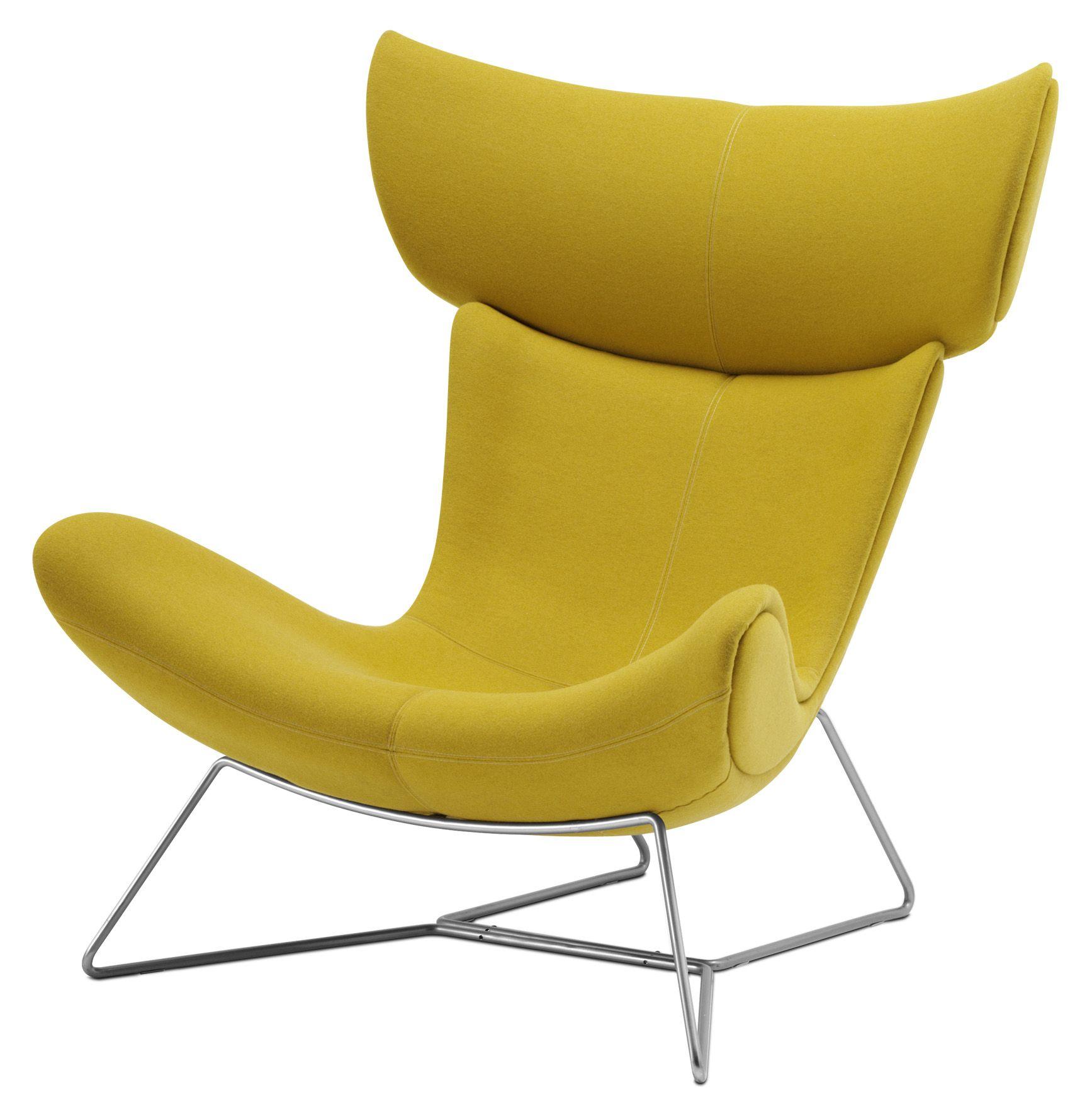fauteuil Imola BO CONCEPT jaune Loft en 2019