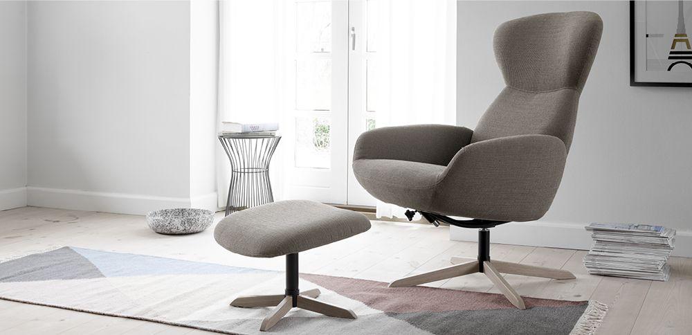 Le confortable fauteuil inclinable Athena un design