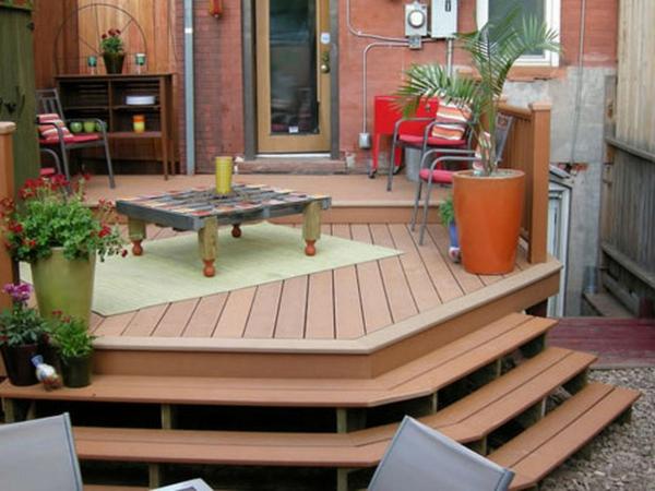 Faire une terrasse en bois posite Archzine
