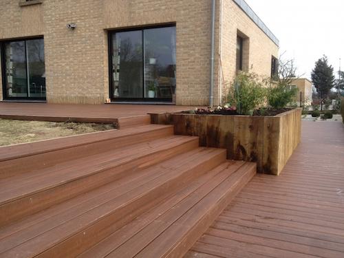 Terrasses en bois posite