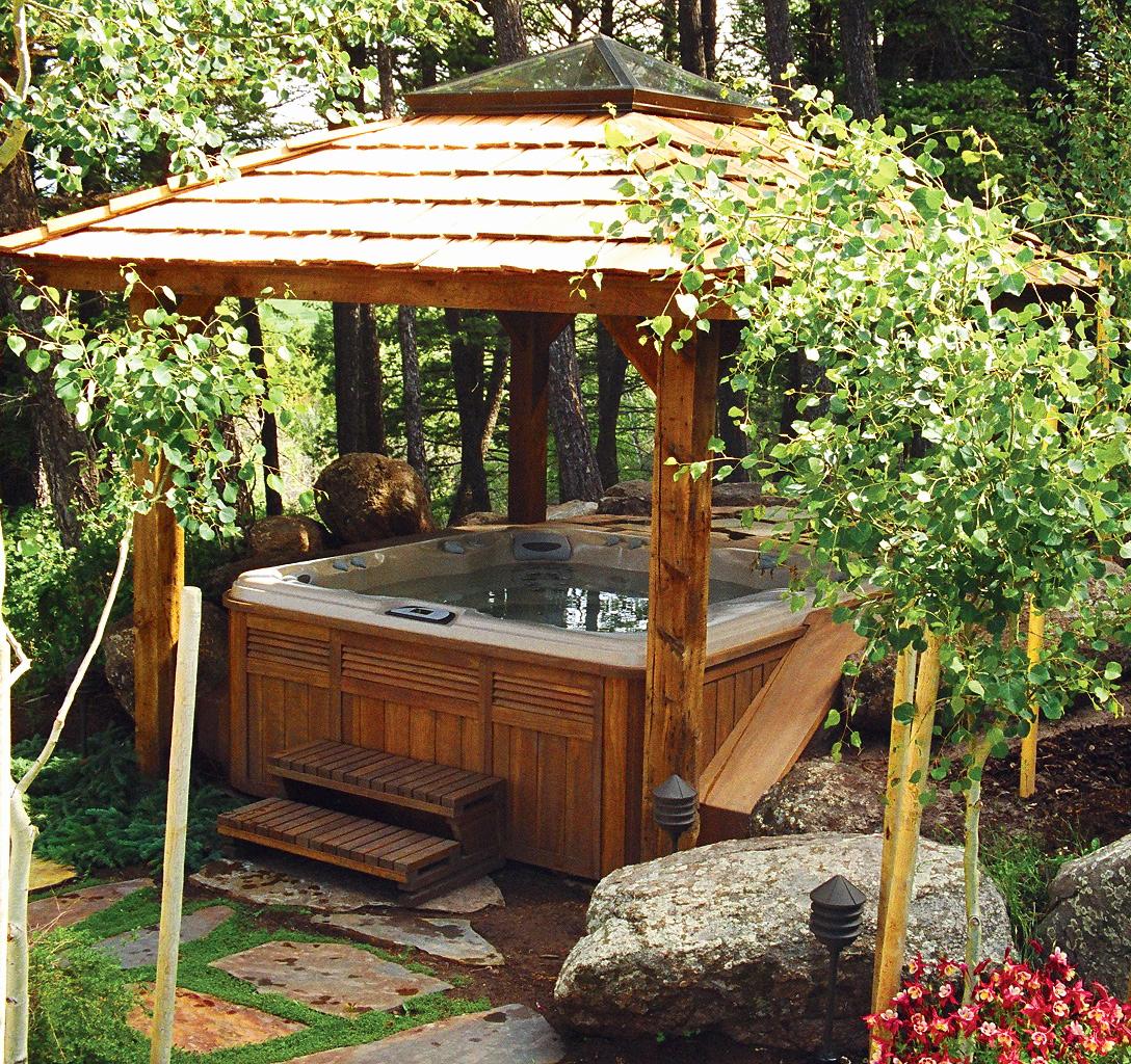 Bois de terrasse pas cher spa en bois pas cher beau auvent - Bordure de jardin en pierre pas cher ...