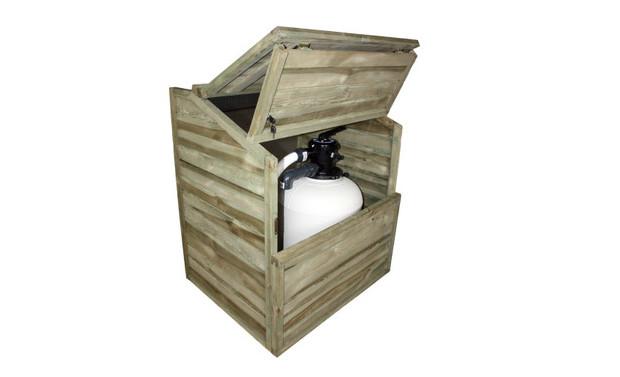 Bois Pour Piscine Coffre De Filtration Et Abris De Pompe Pour Piscine