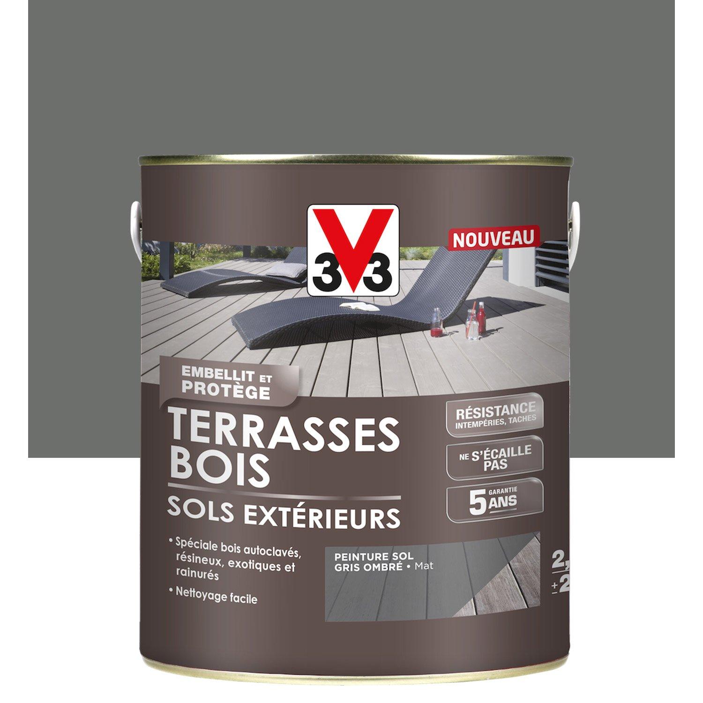 Sol Bois Pour Terrasse Extérieure bois pour terrasse extérieure peinture sol extérieur