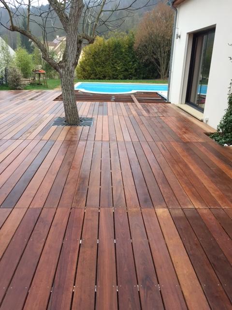 Lame terrasse bois exotique ipe veranda styledevie