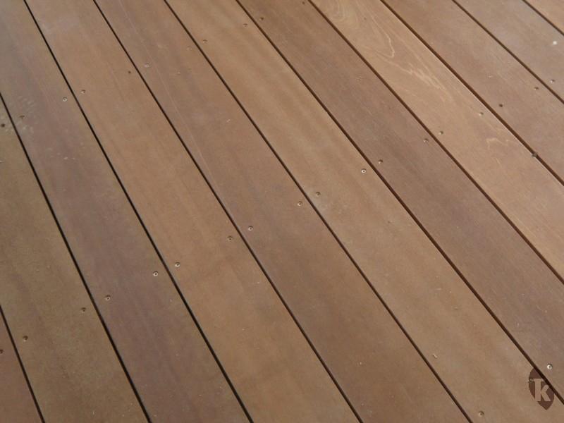 Lames de terrasse en bois exotique Bangkiraï Tekabois