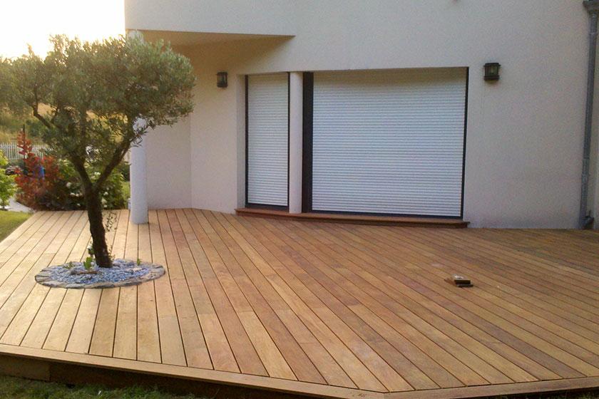 Terrasse en bois exotique IPE Nature Bois Concept