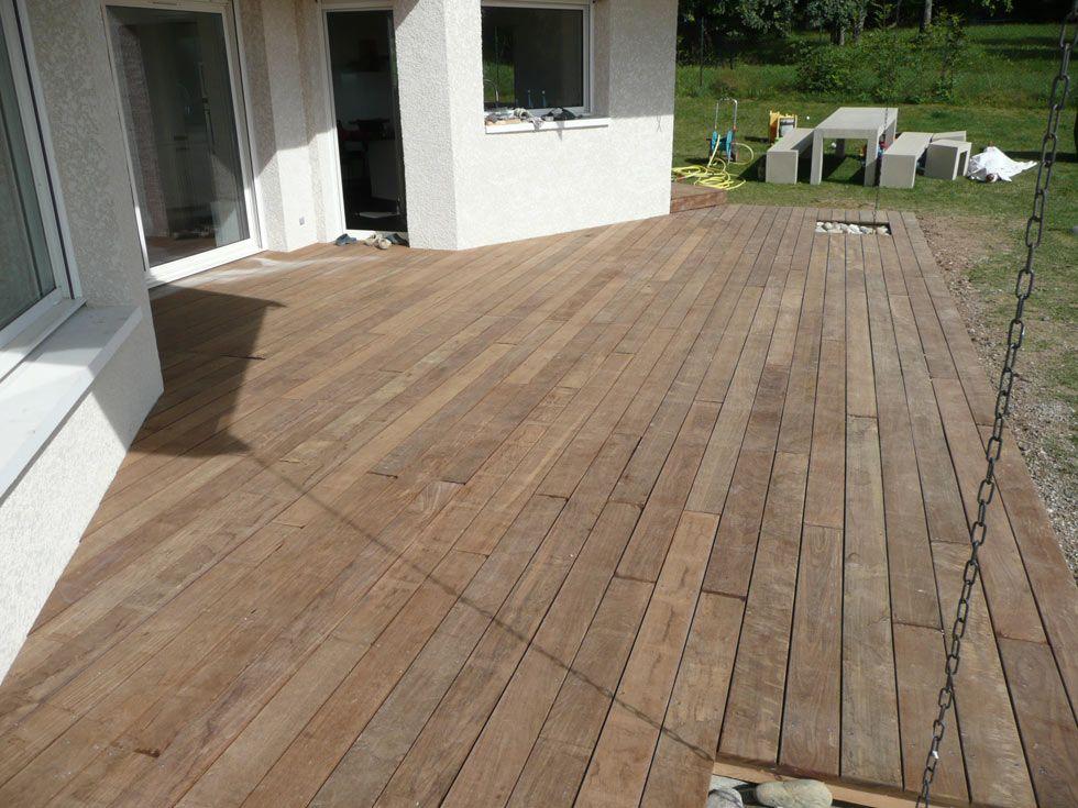 Terrasse en bois exotique Ipé